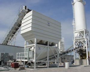 Aggregate Materials Storage