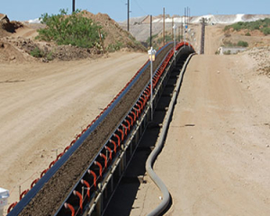 overland transfer conveyors