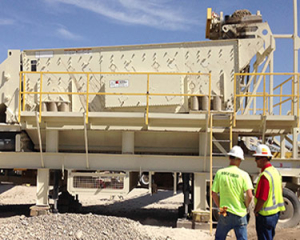 custom portable screening plants, aggregate washing equipment