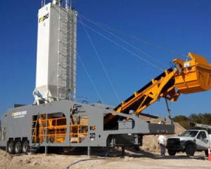rapidmix continous mixers, pugmills, portable batch plants, concrete