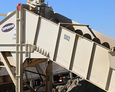 Aggre-Dry Washer, aggregate mining equipment