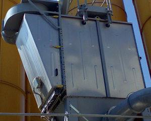 Dry Batch Dust Collectors, batcher vents