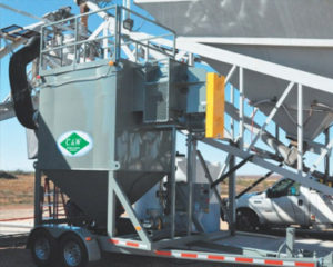 mobile dust collectors, C&W CP-5000M Mobile Dust Collector