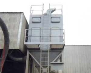 stephens SV-1430 reverse air dust collector