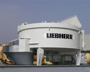concrete pan mixers, Liebherr Ring Pan Mixer RIM 20M