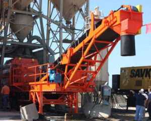 portable twin shaft mixers, concrete pan mixers