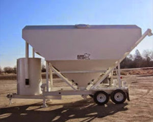 portable silos, storage bins