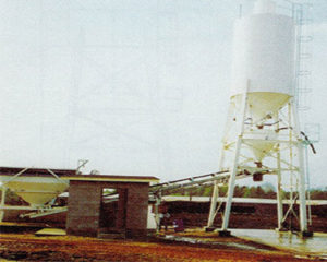 stationary silos, storage bins