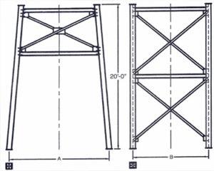 Belgrade Structural Stands, Drive Thru,Stationary Silos, Belgrade Stationary Silo parts and components, Florida