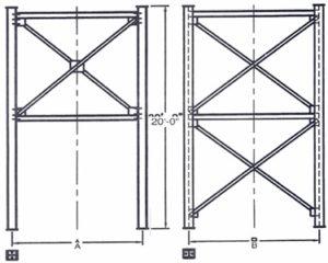 Belgrade Structural Stands,Non-drive thru, Stationary Silos, Belgrade Stationary Silo parts and components, Florida