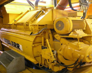 Liebherr Twin Shaft Mixer DW35, liebherr concrete mixer parts and components, model DW 3.5, florida