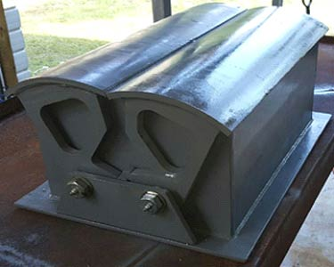 custom steel fabrication, custom steel aggregate bin gates