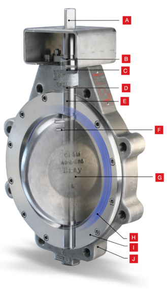 Bray High Performance Butterfly Valve Gulf Atlantic