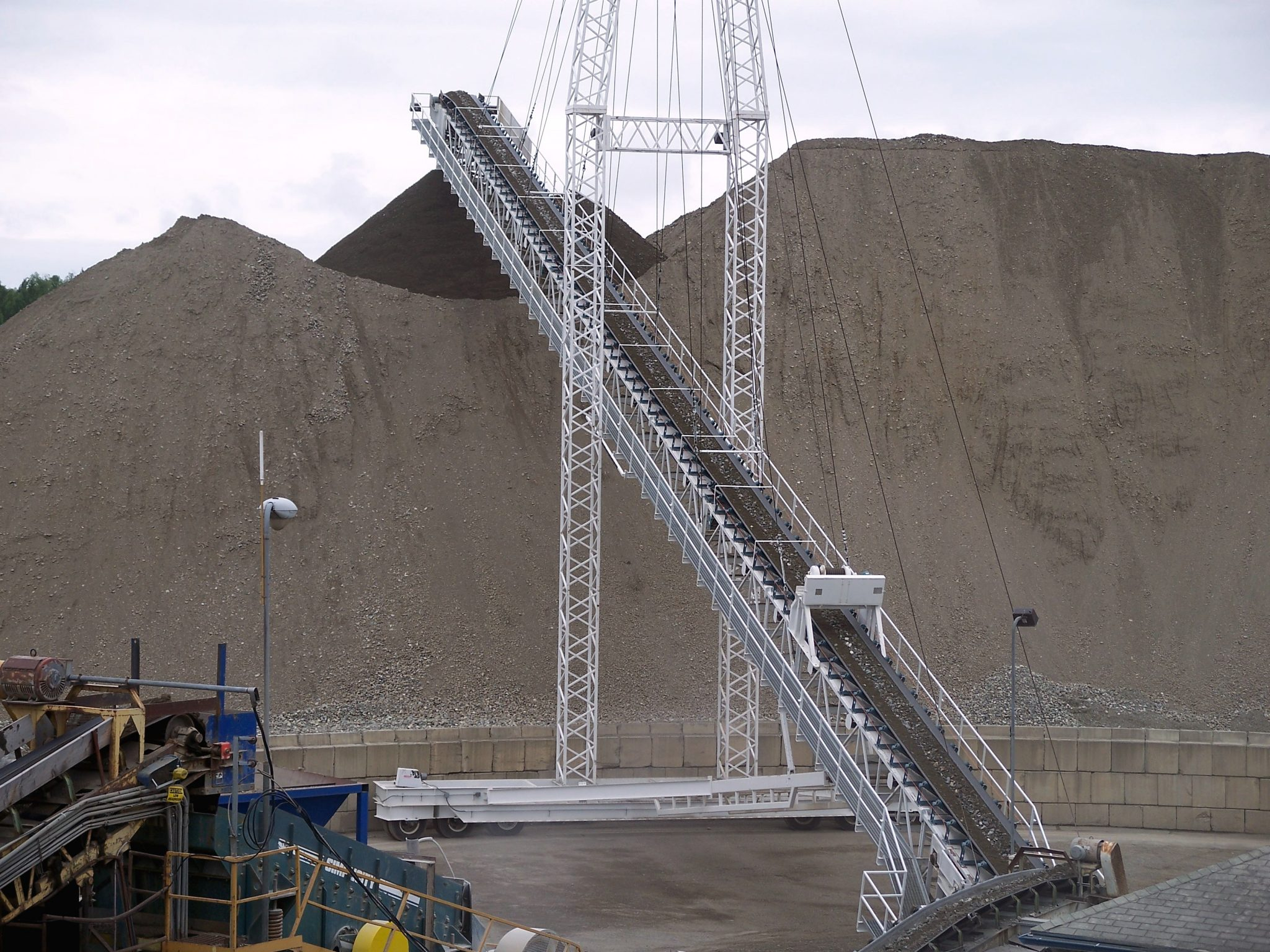 Mast Type Conveyors Gulf Atlantic Equipment