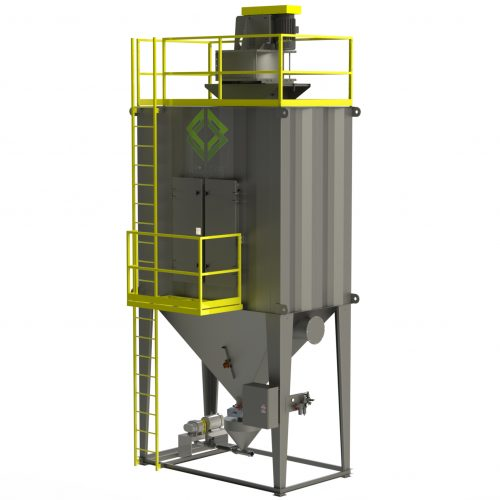 C&W Bag Pulse Central Dust Collectors (BP Series)