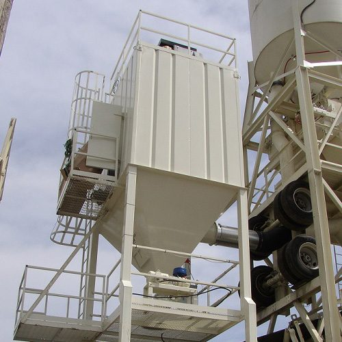 C&W Manufacturing RA Series (Reverse Air) Central Dust Collectors