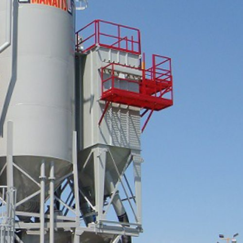 C&W Reverse Air Mixer Dust Collectors (RA Series)