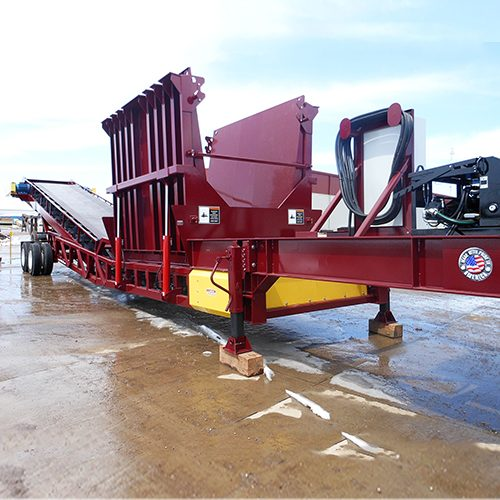 "Masaba Portable 48"" Low Profile Drive-Over Truck Unloader"