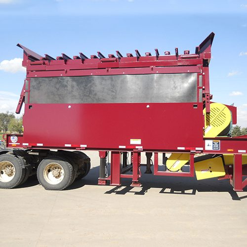 Masaba Portable 8'x14' Feeder Hopper