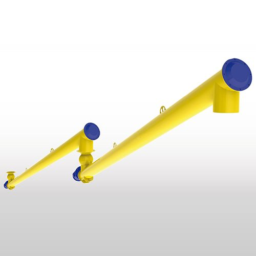 WAM Filler Dust Screw Conveyors & Feeders