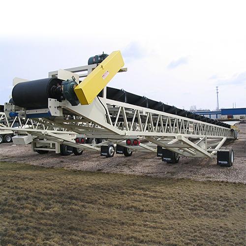 Masaba Portable Radial Stacking Conveyors