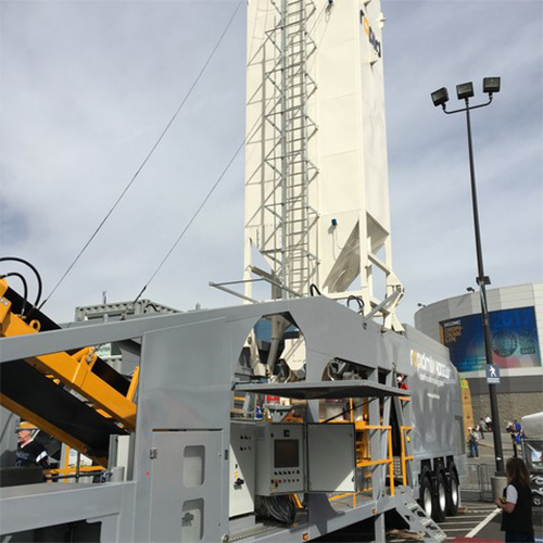 Rapidmix 400C Volumetric Mobile Mixing Plant