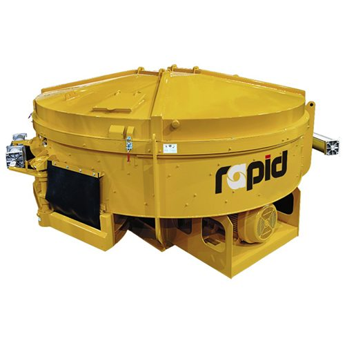 Rapid High-Speed Pan Concrete Mixers