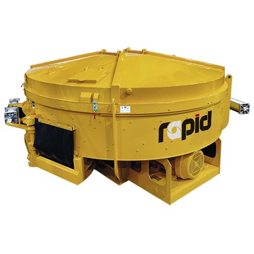 Rapid High-Speed Pan Concrete Mixers
