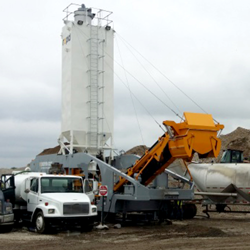 Rapidmix 600CW Continuous Weigh Mobile Mixing Plant