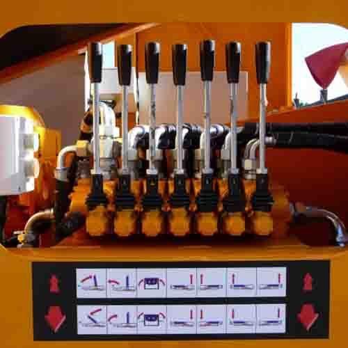 Rapidmix Hydraulic Power Pack Controls