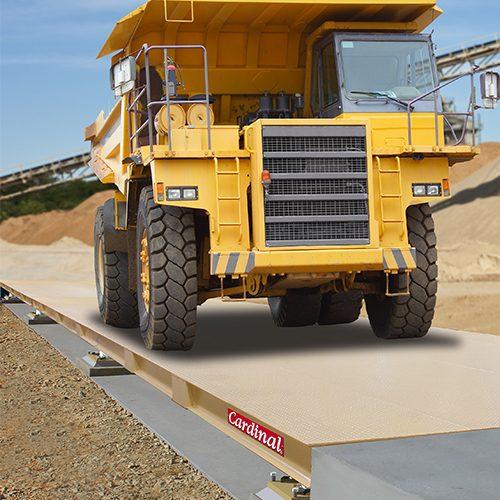 cardinal scale yukon off-road steel deck truck scales