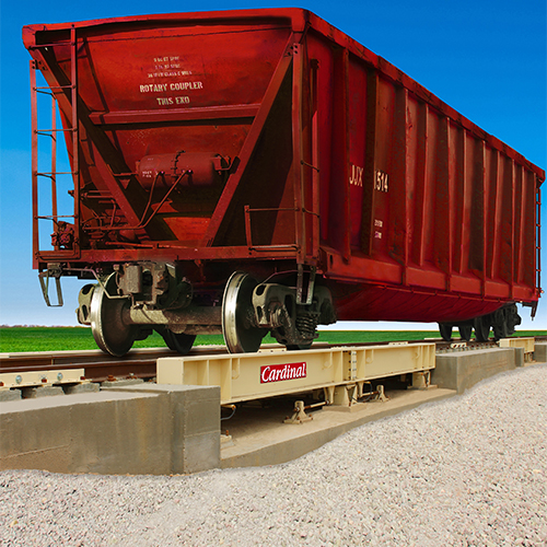 Cardinal Scale LPRA Low-Profile Railroad Track Scales
