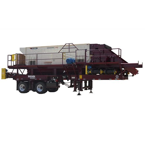 Masaba 6x20 TD Single Screen Portable Screening Plants