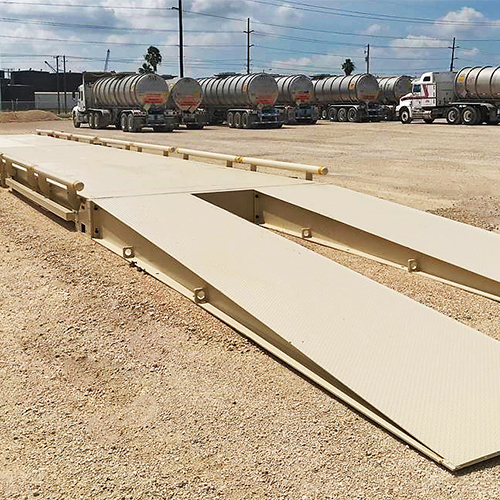 cardinal scale portable truck scales with digital smartcells