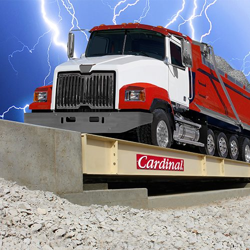 Cardinal Scale Steel Deck Truck Scales with Guardian Hydraulic Load Cells