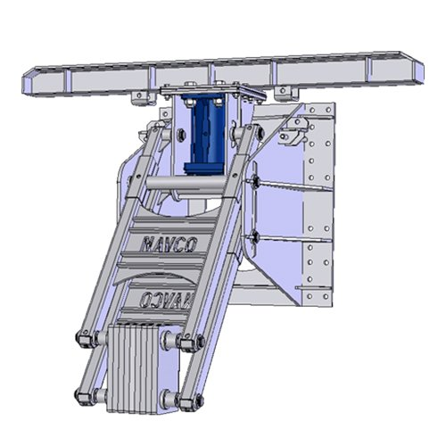NAVCO Rotarymatic System for Rotary Dump Railcar Unloading