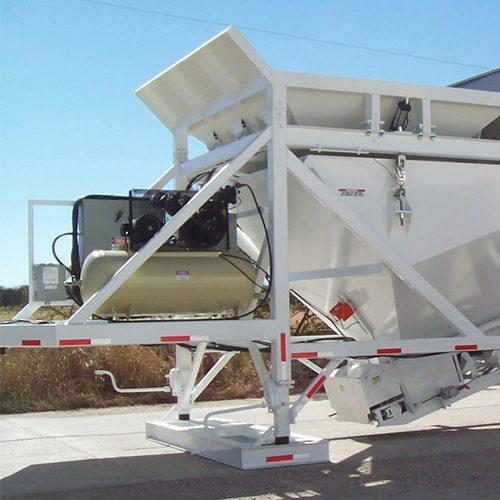 Liddell Dakota Self-Erecting Mobile Concrete Batch Plants