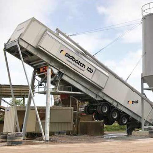 Rapidbatch Mobile Concrete Batch Plant