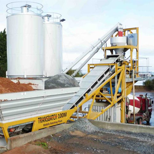 Rapid Transbatch Mobile Compact Concrete Batch Plants
