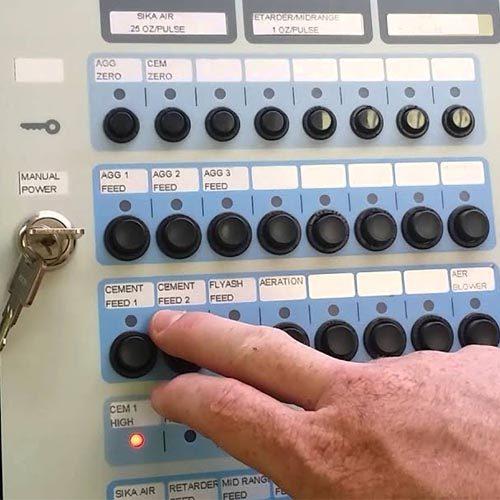 Manual Batch Controls
