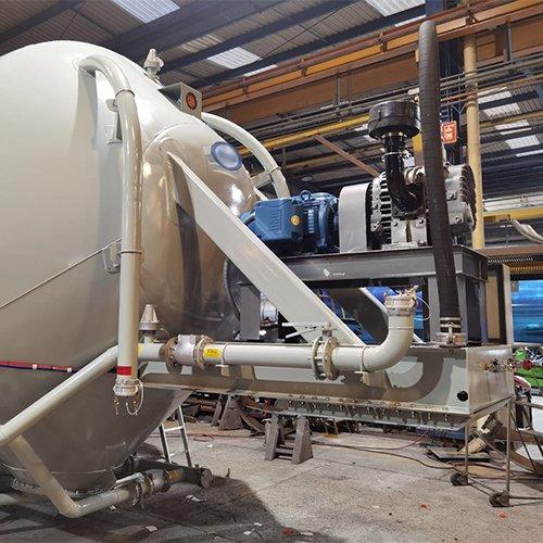 Portable Cement Storage Pig | Gulf Atlantic Industrial Equipment