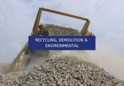 RECYCLING, DEMOLITION & ENVIRONMENTAL