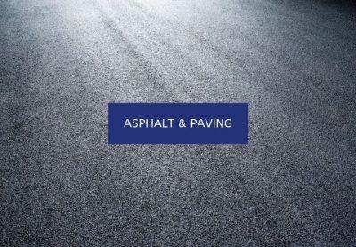 ASPHALT & PAVING