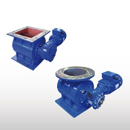 WAM Drop-Through Rotary Valves
