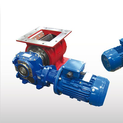 WAM Drop-Through Rotary Valves for Wood Pellets