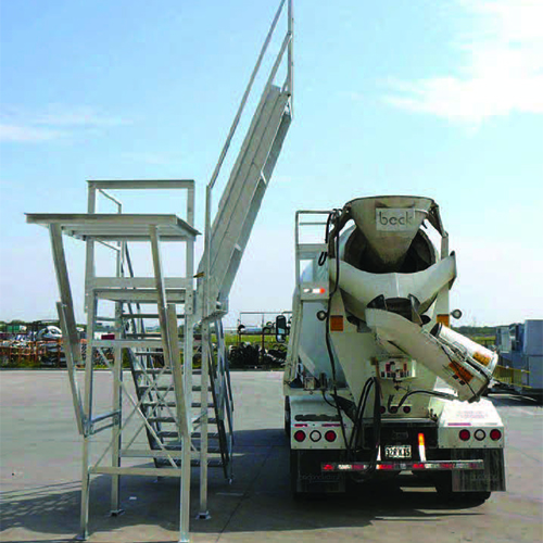 Master III Slump Rack & Inspection Platform