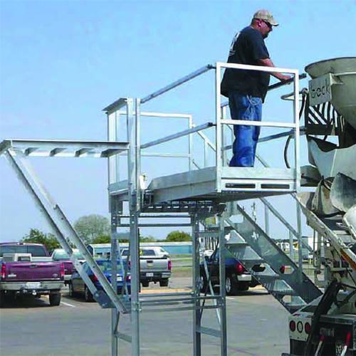 c&w manufacturing slump master iii inspection platform